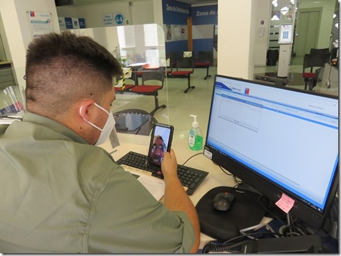 IPS y la red ChileAtiende llama a usar los servicios de trámites remotos y en línea