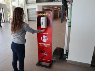 Aeropuerto Andrés Sabella: modernizan medidas sanitarias y recibe acreditación aeroportuaria internacional