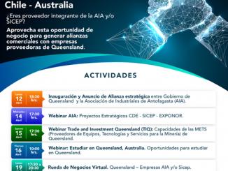 AIA y gobierno de Queensland firman alianza estratégica e invitan a participar de una semana cargada de oportunidades de negocios