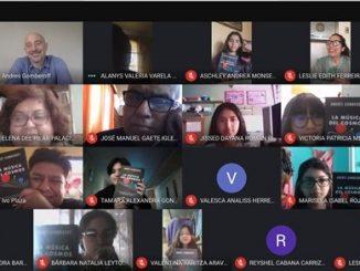 """Con estudiantes antofagastinos y escritor Andrés Gomberoff comenzó ciclo 2021 del programa """"Diálogos en Movimiento"""""""