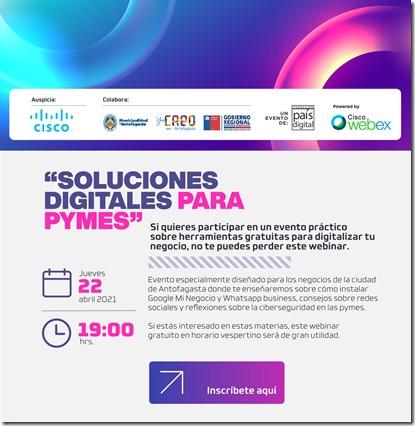invitacion FPD __ CP Webinar Soluciones Digitales para Pymes