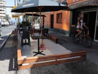 Municipio lanza permiso para que sector gastronómico use el espacio público