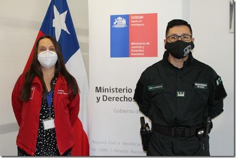 Nuevo Director Gendarmería de Chile 27 abril