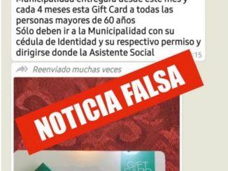 Alcalde (S) desmiente información que llama a retirar tarjetas solidarias en el municipio