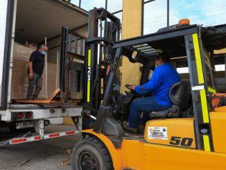 Municipio prepara la entrega de tres mil canastas de alimentos