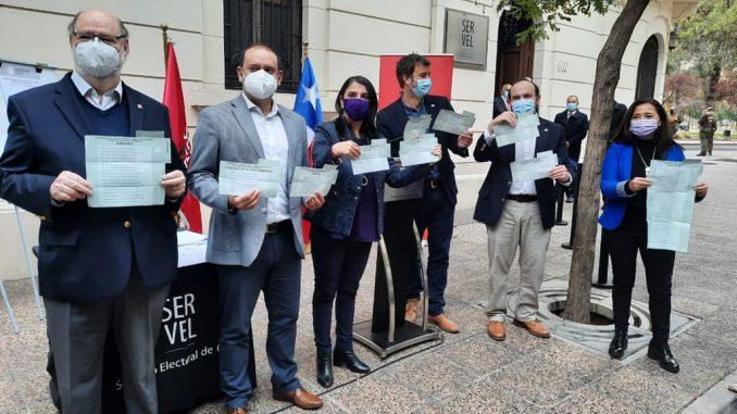 Ministra Karla Rubilar, Director Nacional de CONADI y el SERVEL presentaron voto indígena que se utilizará en la elección de constituyentes