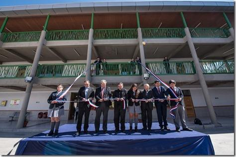Inauguración Cuarta Etapa de construcción del Colegio Técnico Industrial Don Bosco Calama