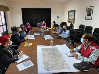 Municipio solicita a intendente comodato de terrenos aledaños a nuevo proyecto habitacional