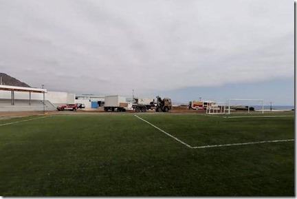 Cancha Polideportivo Centenario