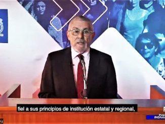 Rector Loyola destacó la reestructuración y adaptación educacional durante la pandemia en Cuenta de Gestión UA 2020