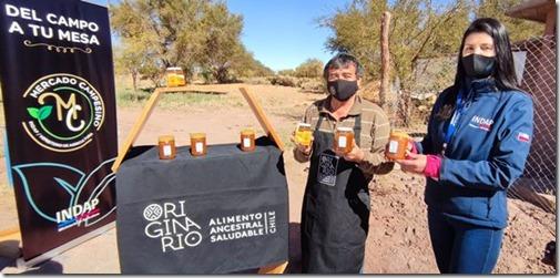 Míel de San Pedro de Atacama primer producto nacional en obtener Sello Originario
