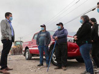 Alcalde Jonathan Velásquez Ramírez citó a autoridades regionales para dar solución a vertedero La Chimba
