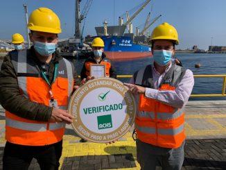 Entregan sello covid-19 por labor preventiva en seguridad y salud laboral durante la pandemia