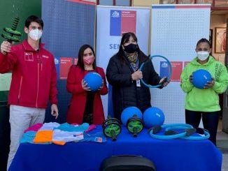 Mindep-IND entrega implementación deportiva a centro de justicia juvenil de Antofagasta