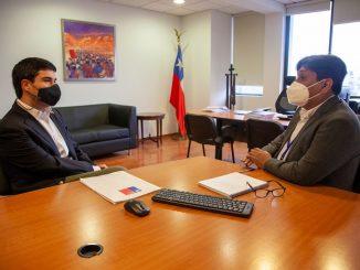 Gobernador Regional planteó problemáticas habitacionales en reunión con el ministro de Bienes Nacionales