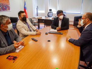 """Gobernador Regional propone al Centro de Formación Técnica de Calama: """"Debemos promover que más jóvenes estudien y ejerzan en nuestra región"""""""