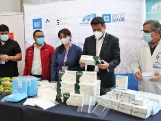 Cerro Dominador donó elementos de protección personal al HCUA