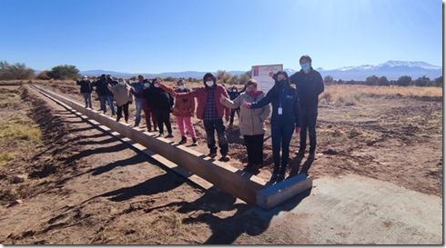 Indap Región de Antofagasta inaugura canal para la comunidad indígena de...
