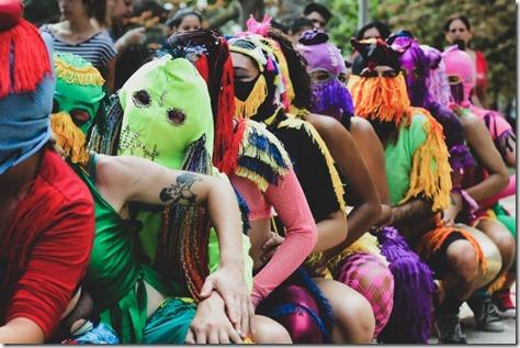 """Performance """"Movimiento Pélvico"""" de proyecto Nuclio. Festival la Cosecha 2020-Archivo BAJ"""