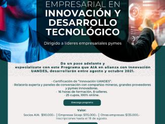 AIA estrena inédito Programa de Formación Empresarial en Innovación junto a la Universidad de Los Andes