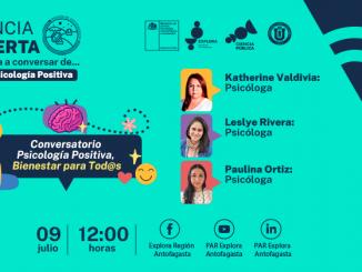 Salud Mental: Ciclo de psicología positiva invita a interactuar en último conversatorio online