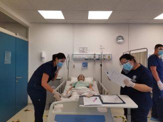 Hospital de simulación para futuros profesionales de la salud en Antofagasta
