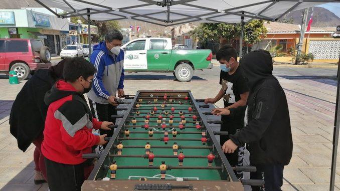 Fiestas patrias con juegos y deportes para la infancia de Taltal