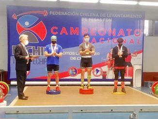 Atletas regionales destacan en Campeonato Nacional Juvenil de levantamiento de pesas