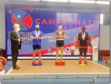 Campeonato halterofilia 1 (foto gentileza técnico Alfredo Lazo)