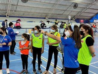 Más de una treintena de jóvenes participaron en jornada de detección de talentos de bádminton