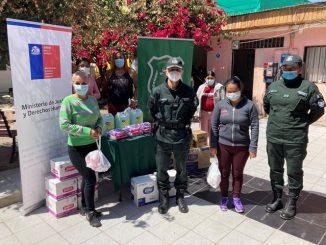 Internas de la región reciben donación de artículos de higiene personal
