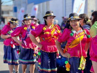 Con una muestra de bailes típicos y una clase maestra de fit folk Mindep-IND anticipó la celebración de Fiestas Patrias