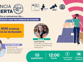 Especialista del MIM presentará los avances del museo hacia la inclusión en última charla de Ciencia Abierta