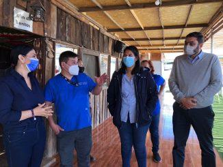 Visitan el primer centro de estadía para migrantes de Antofagasta