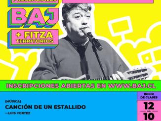 BAJ y Fitza territorios realizarán talleres artísticos presenciales en Antofagasta