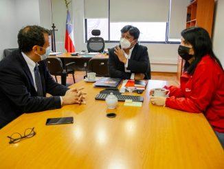 """Gobernador Díaz tras reunión con Delgado y Rubilar: """"Logramos que las respuestas para Colchane fuesen las mismas para nuestra región"""""""