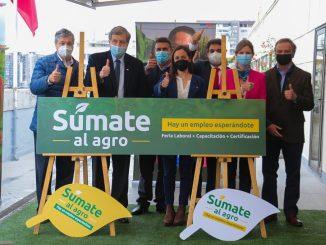 Campaña #SúmatealAgro: Ministerios del Trabajo y Previsión Social y Agricultura llaman a postular a más de 5 mil vacantes de trabajo en el sector agrícola
