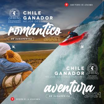 Los World Travel Awards lo confirman: el turismo aventura de Chile es top en Sudamérica